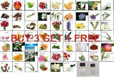 BUY 3  GET 1  FREE PURE  AROMA THERAPEUTIC ESSENTIAL OILS FRAGRANCE  5  ML OIL