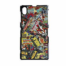 COMIC BOOK AVENGERS DC MARVEL PHONE CASE FITS SONY EXPERIA Z Z1 Z2 Z3 & COMPACT.