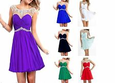 Stock Short/Mini Prom Ball Evening Gown Homecoming Dresses bridesmaid Graduation