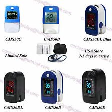 2017 CE&FDA FingerTip Pulse Oximeter,blood Oxygen Monitor SpO2 PR,USA Shipment