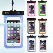 Waterproof Underwater Pouch Dry Bag Case Cover For Cell Phone Mobile Touchscreen