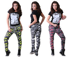 Womens Ladies Military Camouflage Trausers