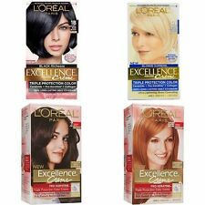LOREAL PARIS EXCELLENCE CREME TRIPLE PROTECTION HAIR COLOR ** CHOOSE YOUR SHADE!