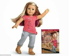 "NEW American Girl 2014 ISABELLE 18"" Doll Book Ballerina, Meet Outfit Ships Today"