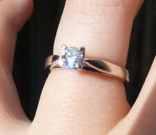 Always & Forever Platinaire 1/3 Carat Round Solitaire Diamond Engagement Ring