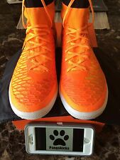 100% Authentic Nike Magistax Proximo TF Orange Black 718359-808 Size 7-11.5