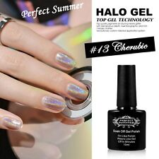 20 Colors Choose UV Gel Nail Polish Halo Lacquer Glitter Varnish Shimmer Sparkle