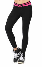 2015 Women Capri YOGA Running Sports Pants Gym Workout Fitness Cropped Leggings