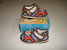 NEW  BABY & TODDLER  STYLE  SANDALS SQUEAKY SHOES COLOR  BROWN ( SUMMER  SALE  )