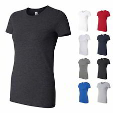 Bella + Canvas Ladies' Made In The USA Womens Short Sleeve T Shirt 6004USA