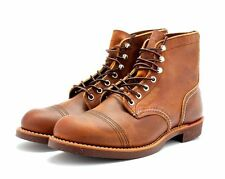 RED WING BOOTS IRON RANGER COPPER ROUGH & TOUGH LEATHER 8115 MADE IN THE USA