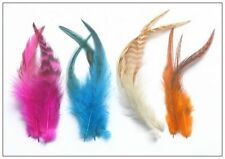 Wholesale! 20pcs Hair Feather Extension Grizzly Big Salon 5-7 inch Xmas Gifts