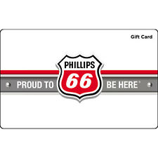$10 / $25 / $50 Phillips 66 Gas Gift Card - Mail Delivery
