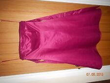 1x evening dress fuchsia hot pink bnwt,or bridesmaid dress size 10