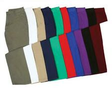 Asquith & Fox Classic Mens Fashion Cotton Twill Colour Chino Trousers Pants