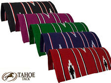 """Navajo Western Horse and Pony Saddle Blankets 30"""" x 30"""" Tahoe Tack"""