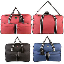 Large Shoulder Holdall Weekend Travel Fligh Cabin Bag Gym Overnight Gym Sports