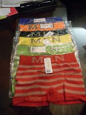 LOT of 48, 36,12, 6, 3,2,1 Men's Seamless Athletic Boxer Briefs Shorts RANDOM C