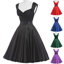 Swing VINTAGE 60s 50s 40s Housewife Rockabilly Pin UP PARTY Prom Dance TEA Dress