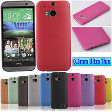 0.3mm Ultra Thin Matte Snap On Shell Hard Case Cover Skin Guard For HTC One M7