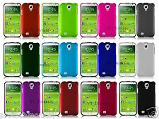 New Rubberized Matte Solid Slim Hard Case Cell Phone Cover + Screen Protector