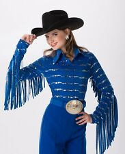 Rodeo Queen, Parade, Show Adult Blouse by Riding High USA