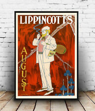 Lippincotts , Vintage Advertising Reproduction poster, Wall art.