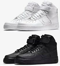 NEW MEN'S NIKE AIR FORCE 1 HIGH  RED WHITE BLACK LIFESTYLE ORIGINAL