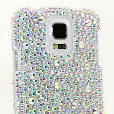 FOR SAMSUNG GALAXY S6 NOTE 5 CRYSTALS BLING CASE COVER AB LARGE SMALL CRYSTALS