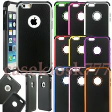 for iphone 6s silicone gel rubber shockproof 3 layer hybrid case skin 6 s