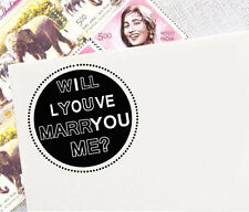 Self Inking Marriage Proposal Idea I Love You Rubber Stamp Valentine Gift Idea