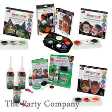 Halloween Face Paint Kits, Fake Blood, Special Effects Make Up Witch Devil Ghost
