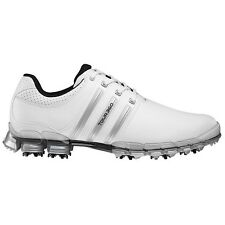 NEW ADIDAS TOUR 360 M1 GOLF SHOES WHITE/SILVER Q46877 / Q46999-PICK SIZE & WIDTH
