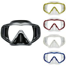 Scubapro Crystal VU Mask Scuba Diving Snorkeling Wide Vision Mask
