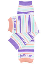 Organic Potpourri Stripes Leg Warmers Newborn Infant and Baby Toddler Sizes Girl