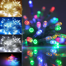 2M/4M BATTERY OPERATED/POWERED STRING Fairy LIGHTS CHRISTMAS WEDDING LED STRINGS