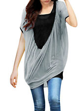 Ladies Batwing Sleeve Ruched Smock & Pullover Tank Top