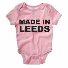 MADE IN LEEDS - West Yorkshire / City / United / Region Themed Baby Grow/Suit