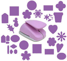 """Woodware Super Duper Lilac Craft Punch 7.5cm 3"""" Various Designs *BUY 2+ SAVE 10%"""