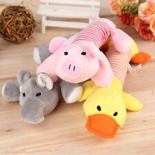 Pet Puppy Chew Squeaker Squeaky Plush Sound Pig Elephant Duck For Dog Toys P2