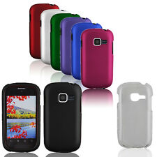 Matte Solid Rubberized HARD Snap On Cover Case for Samsung Galaxy Centura S738C
