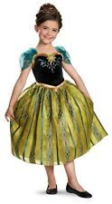 Disney Frozen Anna Coronation Gown Deluxe Child Costume by Disguise