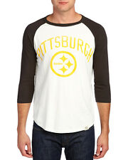 Pittsburgh STEELERS Raglan T-Shirt by Junk Food-NWT men's various sizes-33% off!