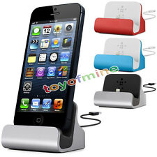 New Charge+ Sync Dock with Lightning Cable for iPhone5 5s 5c,iPod touch 5 5SE