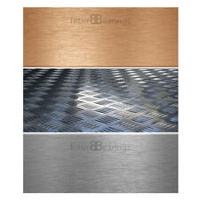 Aluminium Sheet Steel Copper Sheet Metal Chequer Plate Tread Plate Sheet Steels