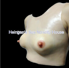 Silicone Fake Breast Form For Crossdresser Choice of B/C/D Cup for Transgender