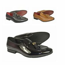 New Men's Loafers Italian Fashion Casual & Formal Moccasins With Tassels Shoes