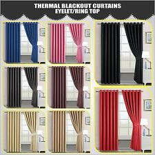 Ring Top Curtains Blackout Pair Curtains Eyelet Tape Curtains