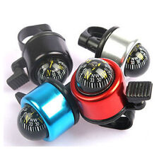 Multicolour Compass Metal Ring Handlebar Bell Sound for Bike Bicycle Accessory