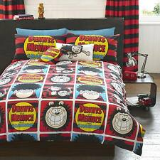 The Beano Dennis The Menace & Gnasher Kids Bedding Quilt Duvet Cover / Curtains